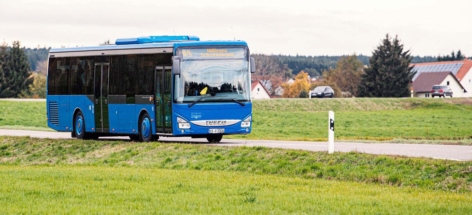 Bus Überlandfahrt