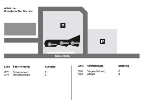 Busbahnhof Bad-Dürrheim