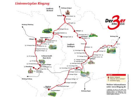 Liniennetzplan Ringzug