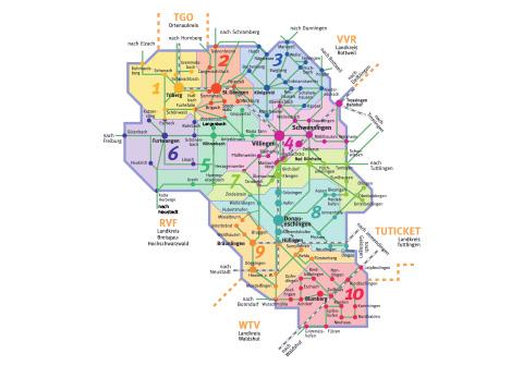 VSB-Tarifzonenplan 2019/2020